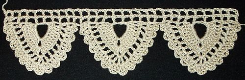 78 Best Images About Crochet Border Edging Trim On