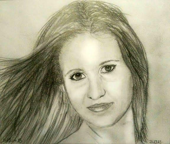 """2015. októberében megrendezésre került a Valdor Art """"Pálcikaembertől a portrérajzolásig"""" című kiállítása, melyen tanulóink munkáit mutattuk be. Ezt a csodás alkotást is a kiállításra szánta az alkotója! Ha Te is szeretnél ilyen profi szinten rajzolni, akkor látogass el weboldalunkra, és válogass kedvedre élő és online tanfolyamaink közül! A képet készítette: Rothammer Magdolna www.valdorart.hu"""