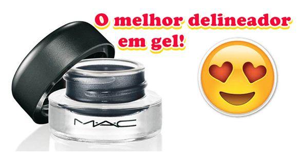 Paixão Feminina: BLACKTRACK DA MAC: O melhor delineador em gel que ...