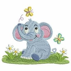 Baby Elephant 3 - 4x4 | What's New | Machine Embroidery Designs | SWAKembroidery.com Ace Points Embroidery