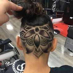 Undercut designs give your barber a bit of an artistic license, and @jon_dome's crazy cool cut proves that can definitely be a good thing!