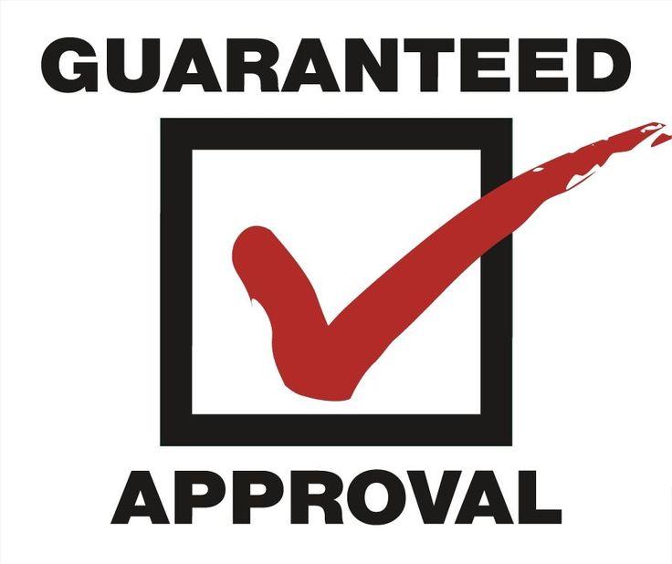 Guaranteed approval cards bad credit no credit ok