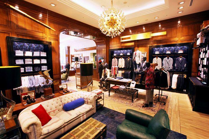 Tommy Hilfiger store, Tokyo store design