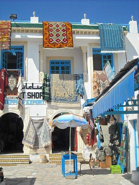 Negozi di souvenir, Hammamet, Tunisia