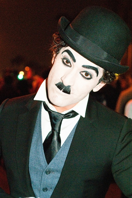 Charlie Chaplin at West Hollywood Halloween by sdoorly, via Flickr