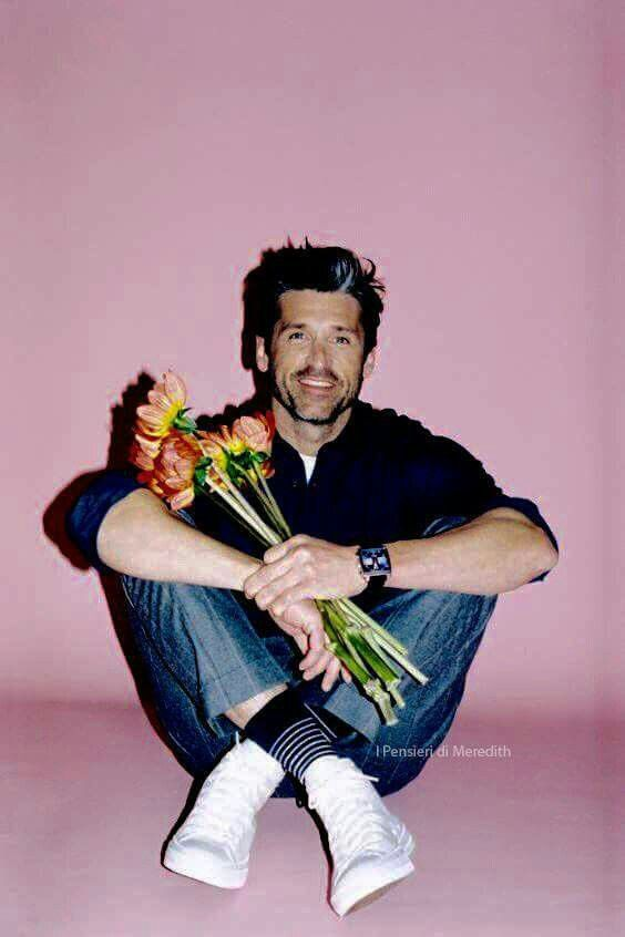 If someone showed up to my door step looking like this, with flowers, I'd marry them NOW