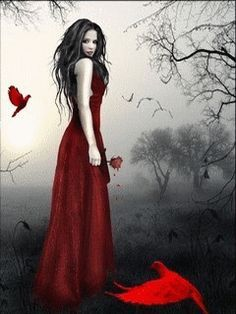 Free Blood Work Lady mobile wallpaper by anchel61 on Tehkseven | Moving the Still | Pinterest | Lady, Roses and Blood
