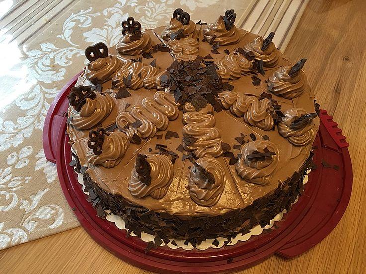 Mokka krokant torte
