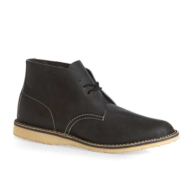 Red Wing Boots - Red Wing Chukka Boots - Charcoal Rough & Tough