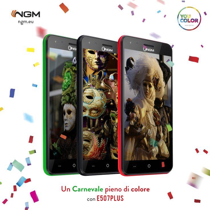 Vivi un #Carnevale di colori e allegria con #NGM 🎉! #Ngm #YourPerfectMatch