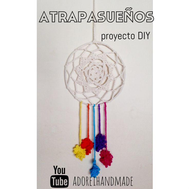 ATRAPASUEÑOS tejido al crochet tutorial