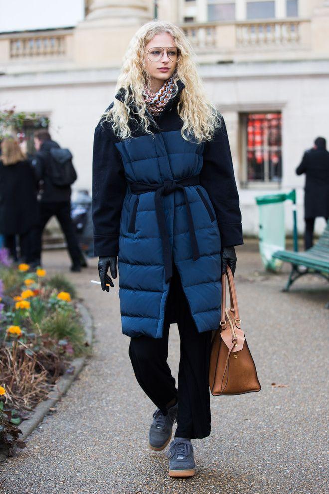 Doudoune à la Fashion Week Paris automne hiver 2016 2017