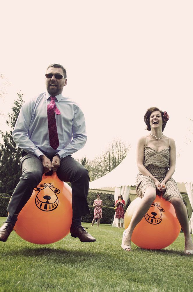 Space hopper races for your #team. Can be used either in or outdoor and helps to give your delegates a taste adrenaline fun without expensive facilitation!