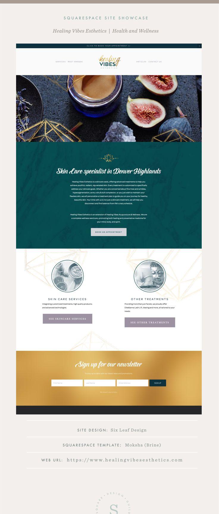 Site Showcase Healing Vibes Esthetics Healing
