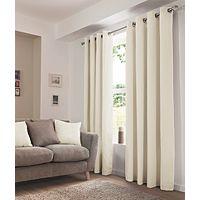 George Home Cream Eyelet Curtains | Curtains | George at ASDA £22-£35