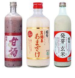 当社は、江戸時代後期創業より、焼酎・清酒・あまざけ等、日本食文化の原点である麹を利用した商品を製造。品質第一を商品つくりの原点にして、焼酎・清酒・あまざけの分野で高い評価をうけています。世界の銘酒といわれるワイン、ブランデー、ビール、ウィスキー、紹興酒、芽台酒とは違った日本の麹文化の結晶を味わってください。 私たちは、いま、世界をめざして日本の酒類を製造しようと決意しています。