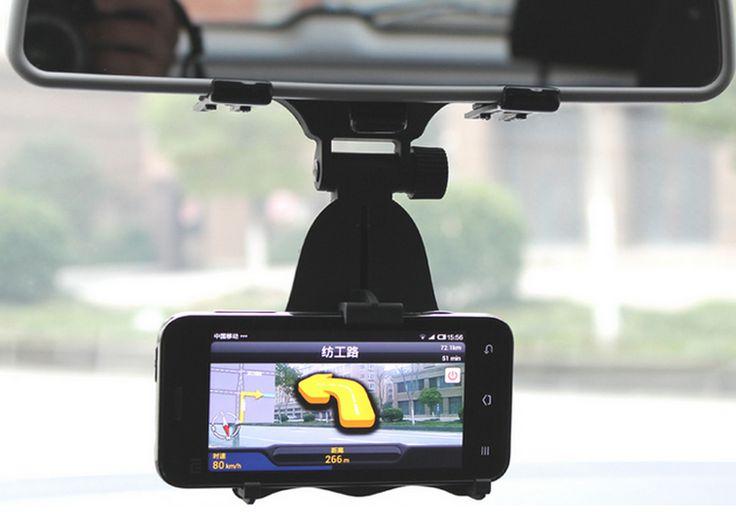 Βάση στήριξης κινητών στον καθρέπτη του αυτοκινήτου σε προσφορά!