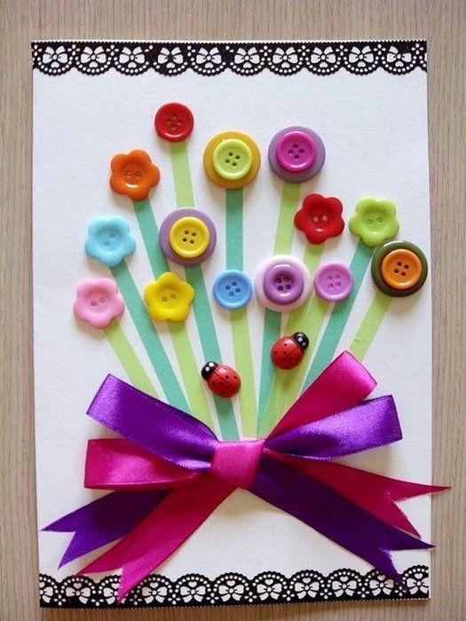 Пятница, открытка с днем рождения своими руками детская из цветной бумаги