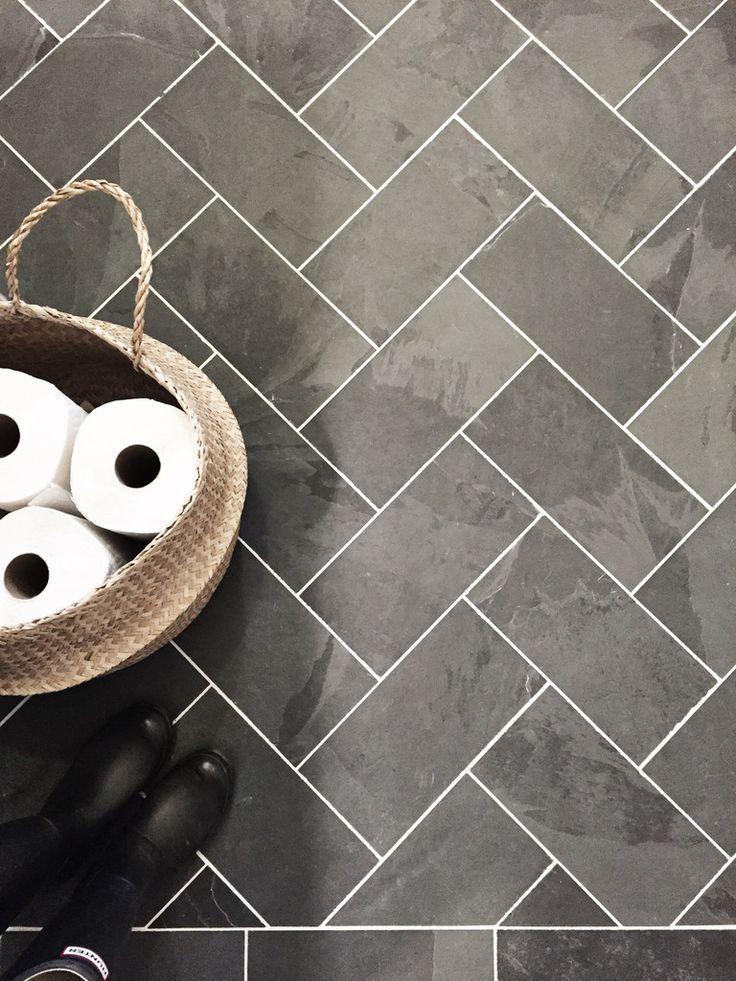 17 Best ideas about Gray Tile Floors