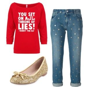 Christmas Outfit Idea #1: