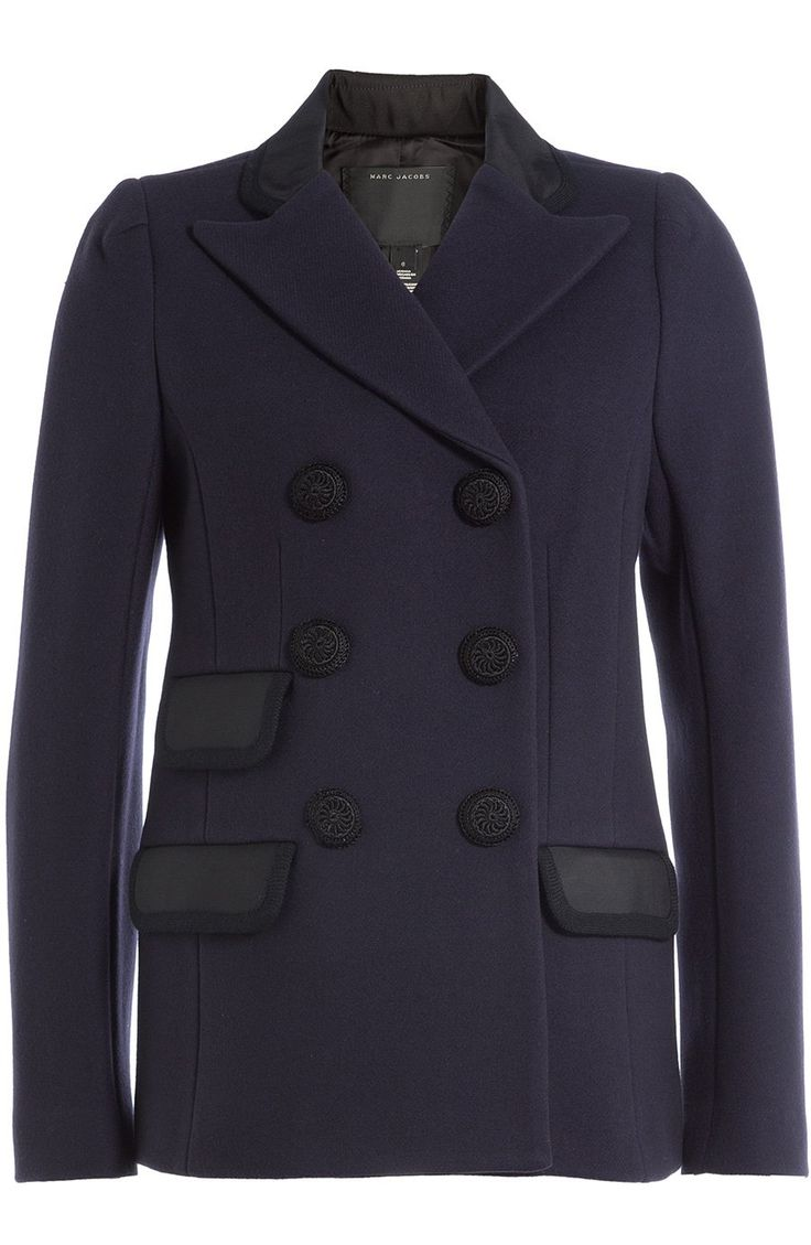 Double Breasted Navy Wool Jacket  https://www.australiaqld.com/product/double-breasted-navy-wool-jacket/ #fashion #style #dresses