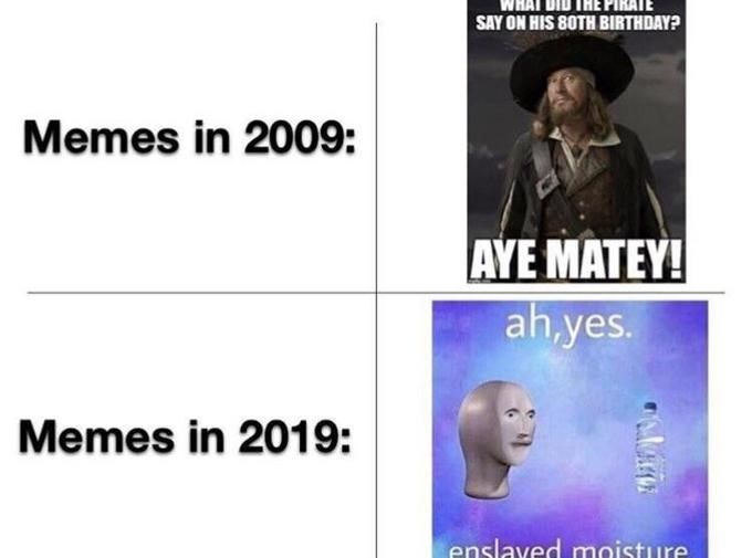 Enslaved Moisture Memes Are The Epitome Of Bizarre Millennial Humor Millennials Funny Memes Math Memes