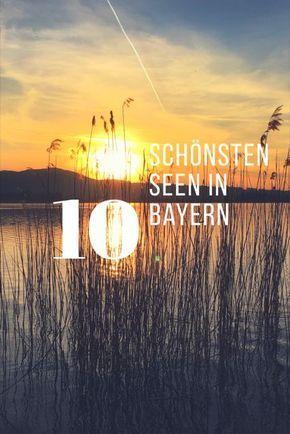Seenliebe, so findest du die 10 schönsten Seen in Bayern. Der Frühling ist da und mit ihm Sonne, Genuss und entspannte Zeit am See. Deutschlands Süden um München hat einiges an tollen Gewässern für Freizeit und Genussreisetipps zu bieten. Blogparade gefällig? Welches ist dein Lieblingssee?