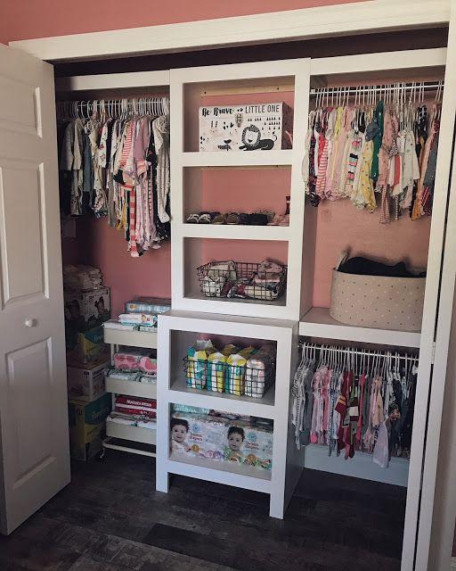NURSERY ORGANIZATION! / Katie Scarlett Chronicles / Nursery Decor / Baby Girl Nursery / Themed Nursery / Organization Ideas