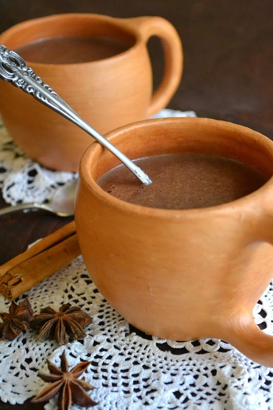Chocolate Atole, Mexican Hot Chocolate - The View from Great Island