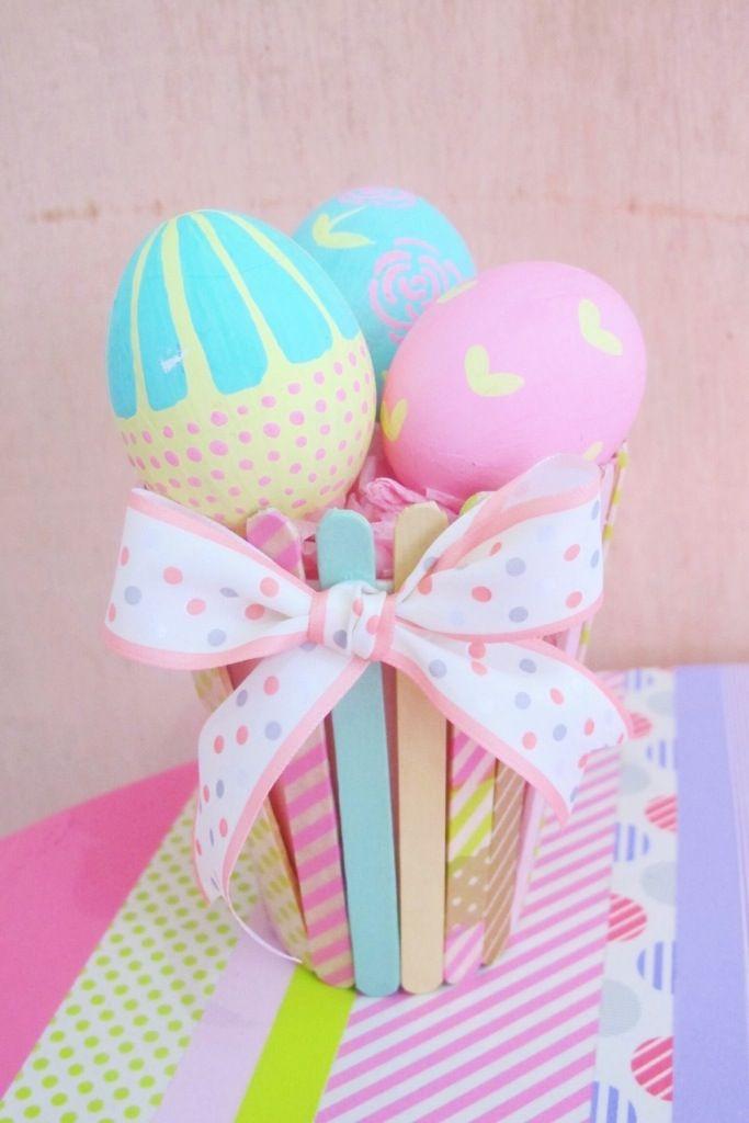 Masih dalam rangka Paskah. Hari ini masih mau prakaryaan seputaran telur paskah. Setelah bikin easter furby eggs kemarin. Hari ini mau bikin yang pastel-pastel. Telur pastel yang saya cat kemarin b…