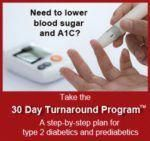30 Day Turnaround Banner | Diabetes Meal Plans signsofdiabetes