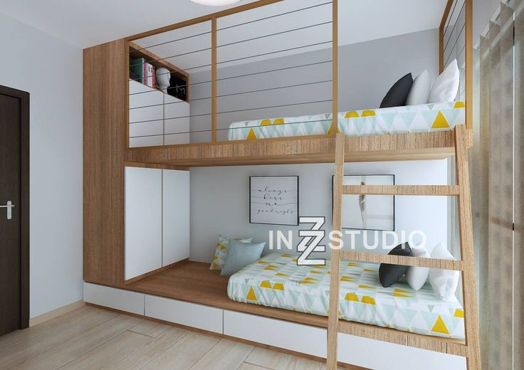Bunk Beds Are Great Ways To Add More Space To A Room