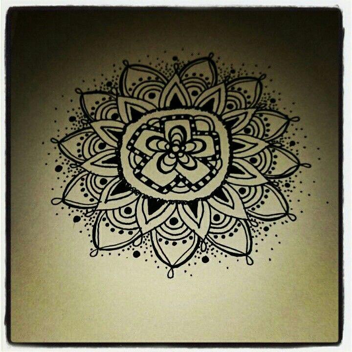 Mandala tattoo art  made by Fladders