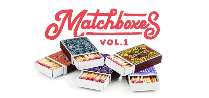 次の @Behance プロジェクトを見る : 「Custom Matchboxes Vol.1」 https://www.behance.net/gallery/45852355/Custom-Matchboxes-Vol1