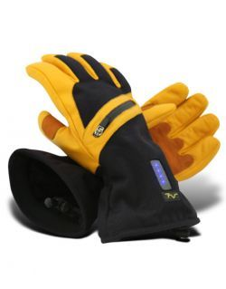 Volt Resistance Mens 7V Leather Heated Work Gloves