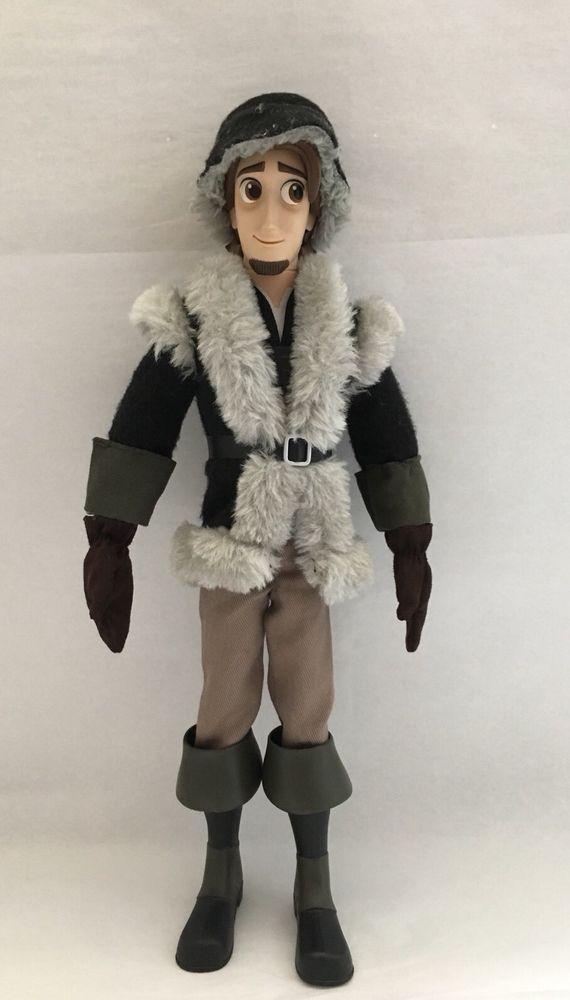 New Disney Store Tangled The Series Eugene Doll Flynn Rider From Deluxe Doll Set Ebay Disney Tangled Doll Sets Tangled Series