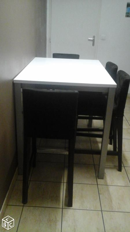 Good table haute bar but 12 table haute cuisine 4 for Table de cuisine haute ikea