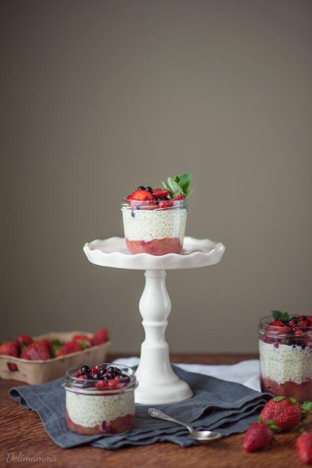 Delimamma: Mleczny deser z tapioki