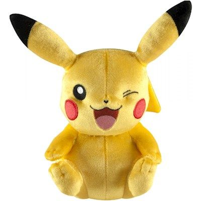 Pikachu Bamse 20 cm.