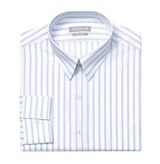 Van Heusen® Men's Big & Tall Long Sleeve Striped Button Down Shirt