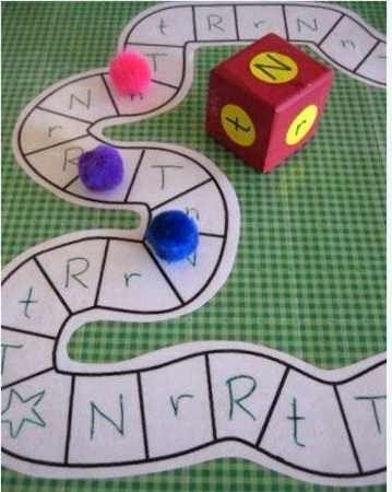 juego para aprender mayúsculas y minúsculas