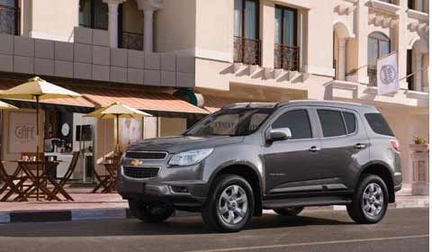 Chevrolet Trailblazer to go on Sale on Amazon.in