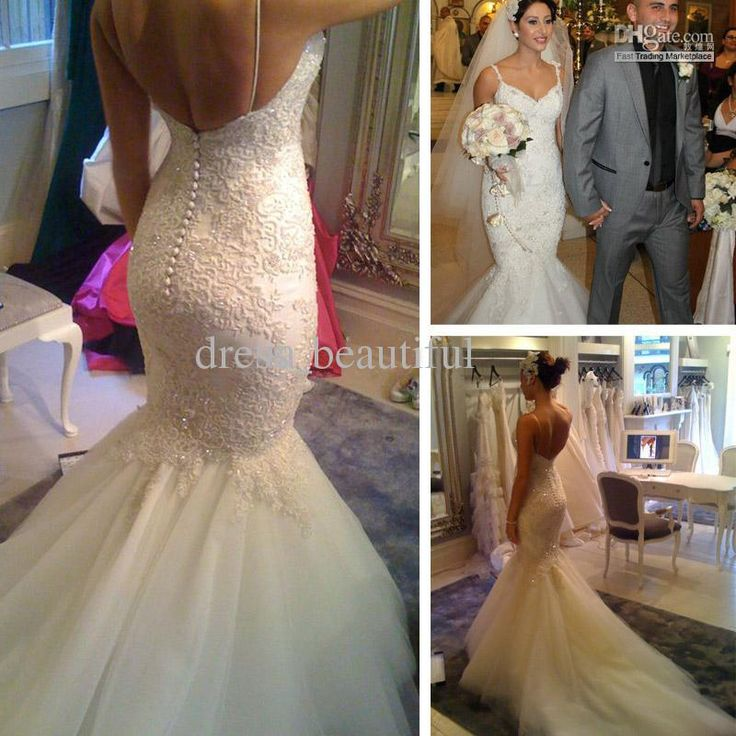 39 best images about Mermaid wedding dresses on Pinterest ...