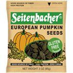 Pumpkin Seeds- good source of fiber, high protein, zero carbs!