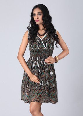 Buy Hot Berries Women's Gathered Dress Online at Best Offer Prices @ Rs. 599- In India. #Maxi #Dresses #India