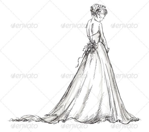 Draw Wedding Dresses for Girls – Fashion dresses