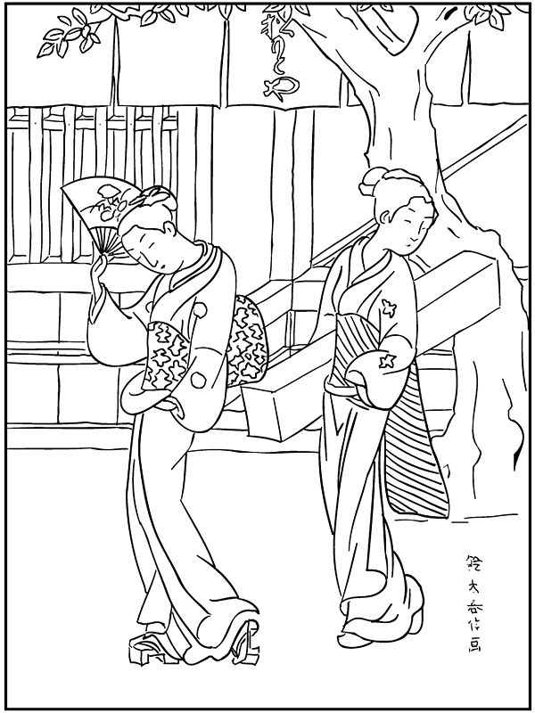 famous paintings 999 coloring pages