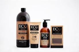 Eco Tan 100% Certified Organic Spray Tan + Tanning Products.