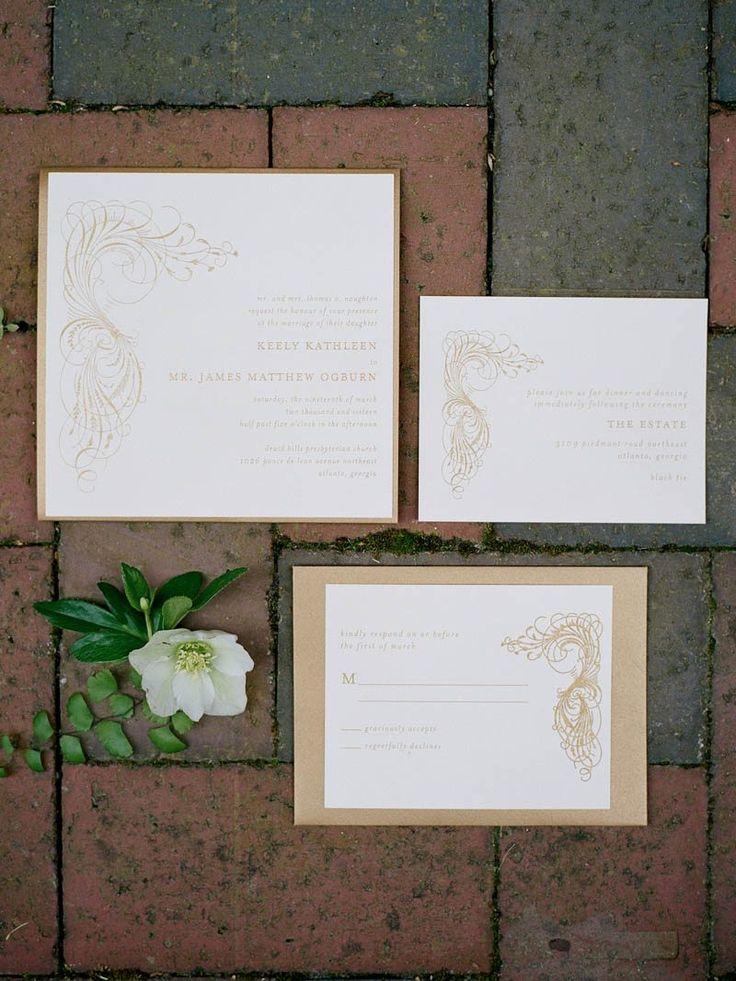 wedding invitations atlanta%0A Elegant St  Patrick u    s Day Wedding at The Estate in Atlanta  GA