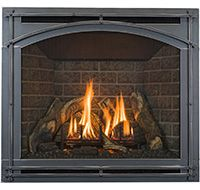 Kozy Heat Wood Burning Fireplaces | Modern & Contemporary Gas Inserts